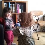 En lille video af Laura og Alma :)