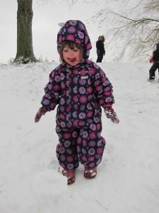 Winter Wonderland: Laura i sneen